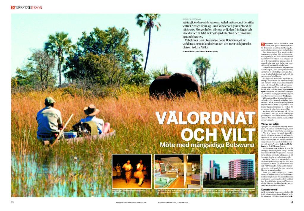 Välordnat och vilt – Möte med mångsidiga Botswana