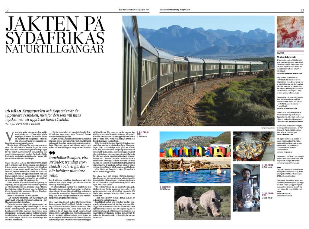 Jakten på Sydafrikas naturtillgångar