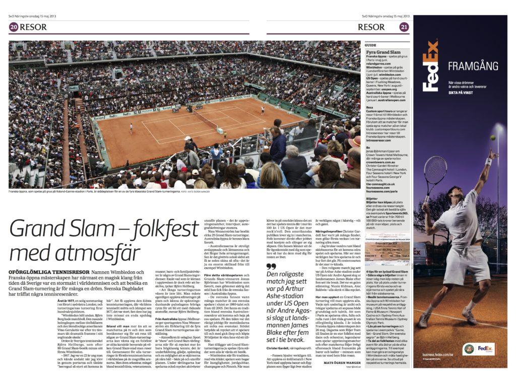 Grand Slam – folkfest med atmosfär